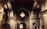 Interior of the chapel by William Henry Finch (1816-1883)